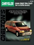 Chrysler Caravan/Voyager/Town & Country 1984-95 (Chilton's Total Car Care Repair Manuals) Cover