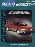 Subaru Coupes Sedans Wagons 1985 1996