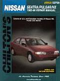 Nissan Sentra/Pulsar/Nx 1982-96 (Chilton's Total Car Care Repair Manuals) Cover