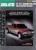 GM S10/S15/Sonoma Pick-Ups 1982-93 (Chilton's Total Car Care Repair Manuals)