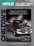 Chrysler Full Size Trucks 1989 1996 Repair Manual