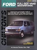 Ford Full Size Vans 1989 1996