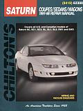 Saturn Coupes Sedans Wagons 1991 1998 Repair Manual