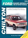Ford Ranger/Bronco II 1983-90 (Chilton's Total Car Care Repair Manuals)