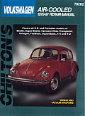 Volkswagen Repair Manual 1970 1981 Air Cooled Models Including Beetle Super Beetle Karmann Ghia Transporter Vanagon Fastback Squareback 411 & 412