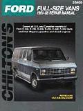 Ford Full-Size Vans, 1961-88