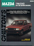 Mazda Trucks 1972-86 (Chilton's Total Car Care Repair Manuals) Cover
