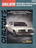 GM Citation Omega Phoenix Skylark 1980 85