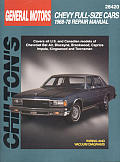 GM Chevy Full-Size Cars 1968-78 (Chilton's Total Car Care Repair Manuals)