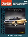 Chrysler Cirrus Stratus Sebring Avenger Breeze Repair Manual 1995 1998