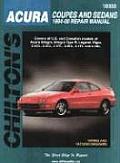 Acura Coupes & Sedans Repair Manual 1994 2000