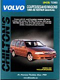 Volvo Coupes Sedans Wagons Repair Manual 1990 1998 Includes 240 740 760 780 850 940 960 C70 S70 S90 V70 V90 Cross Country