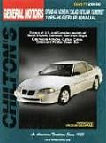 GM Grand Am/Achieva/Calais/Skylark/Somerset 1985-98 Repair Manual (Chilton's Total Car Care Repair Manuals 28660) Cover
