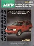 Jeep Wagoneer/Commanche 84-98 (Chilton's Total Car Care Repair Manuals)