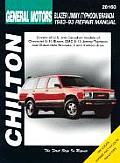 GM Blazer/Jimmy/Typhoon/Bravada 1983-93 (Chilton's Total Car Care Repair Manuals)