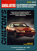 GM Cavalier/Cimarron 1982-94 (Chilton's Total Car Care Repair Manuals)
