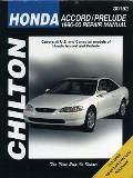 Honda--Accord/Prelude (Chilton's Total Car Care Repair Manuals)