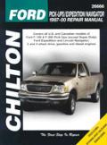 Ford Pickups Expedition Navigator Repair Manual 1997 2000