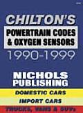 Chilton's Powertrain Codes & Oxygen Sensors 1990-99