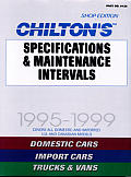 Specifications & Maintenance Intervals