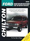 Ford Ranger/Explorer/Mountaineer 1991-99 (Chilton's Total Car Care Repair Manuals)