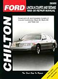 Ford-Coupes and Sedans 1989-00 (Chilton's Total Car Care Repair Manuals)