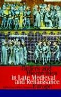 Orders and Hierarchies in Late Medieval and Renaissance Europe