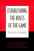 Establishing the Rules of the Game: Election Laws in Democracies