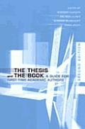 Thesis & the Bk-2nd /E 2/E