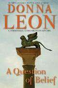 A Question of Belief (Commissario Guido Brunetti Mysteries) Cover