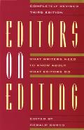 Editors on Editing (3RD 93 Edition)