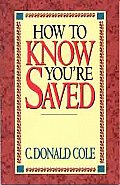 How to Know You're Saved