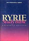 Bible Niv Ryrie Study Expanded Edition Red Letter