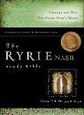 Bible Nasb Black Ryrie Study Red Letter
