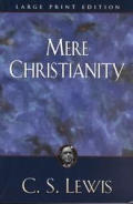 Mere Christianity (Large Print)