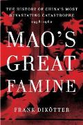 Mao's Great Famine Cover