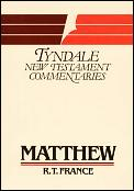 The Gospel According to Matthew (Tyndale New Testament Commentaries)