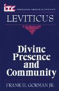 Leviticus: Divine Presence and Community