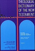 Theological Dictionary of the New Testament Cover