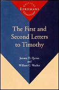 First & Second Letters To Timothy
