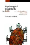 Psychological Insight Into the Bible Texts & Readings