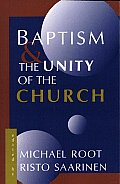 Baptism and the Unity of the Church Cover