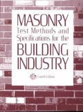 Masonry Test Methods & Specifications 4TH Edition