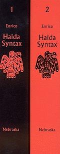 Haida Syntax, 2-Volume Set