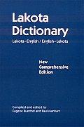 Lakota Dictionary New Comprehensive Edition