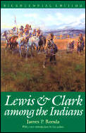 Lewis and Clark Among the Indians (Lewis & Clark Expedition) Cover