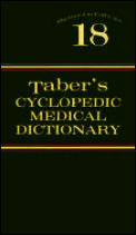 Tabers Cyclopedic Medical Dictionary 18th Edition Inde
