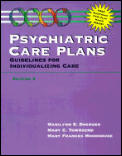 Psychiatric Care Plans Guidelines For