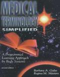 Medical Terminology Simplified A Program