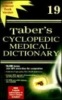 Tabers Cyclopedic Medical Dictionary 19TH Edition Inde Cover